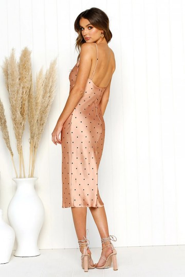 Slim and Sexy Strapless Dress-Rose Gold