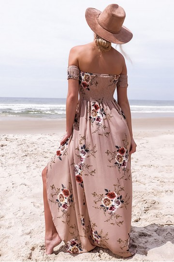 Kiss Me By The River Floral Dress